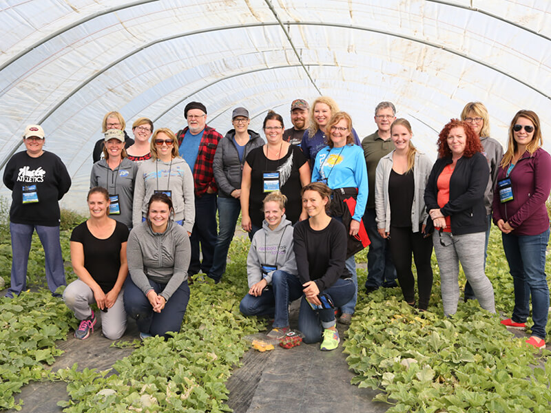 Teachers get an Agriculture Education